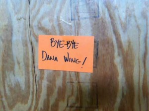 Bye-bye Dana wing!